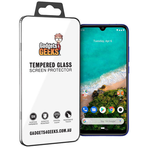 9H Tempered Glass Screen Protector for Xiaomi Mi A3